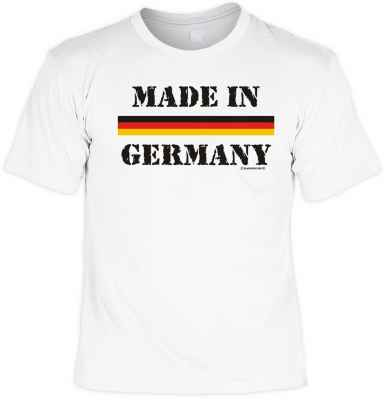 T-Shirt: Made in Germany