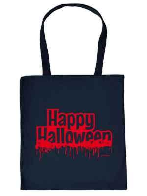 Stofftasche: Happy Halloween