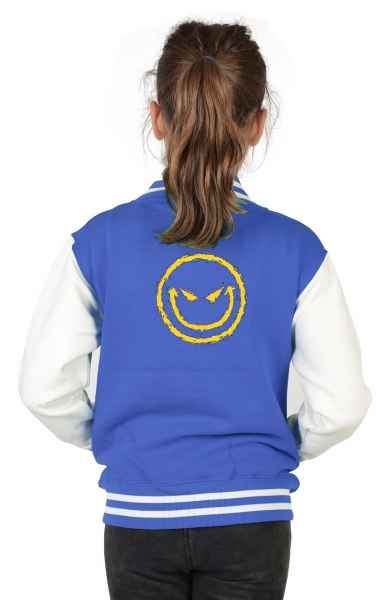 College Jacke Kinder: Bad Smiley