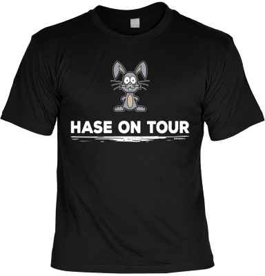 T-Shirt: Hase on tour
