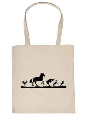 Stofftasche: Tiermotive