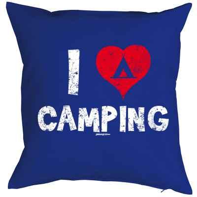 Kissenbezug: I love Camping