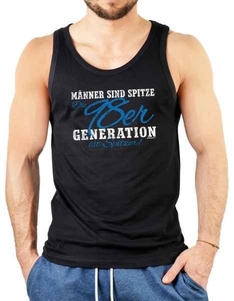 Tank Top Herren: Männer sind spitze Die 98er Generation ist spitzer!