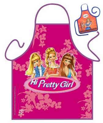 Motiv Kinder Schürze mit kleiner Schürze: Pretty Girls