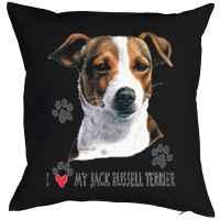 Kissen mit Füllung: I love my Jack Russel Terrier