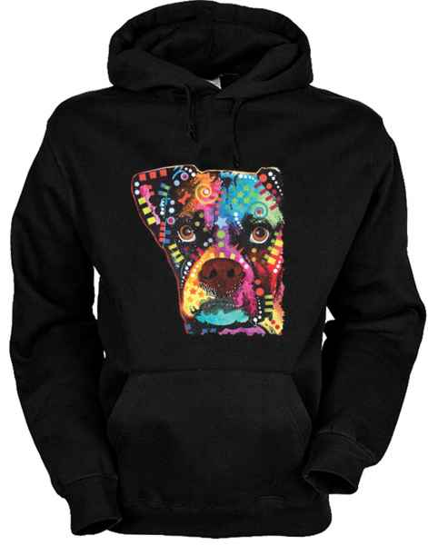 Hoody: Boxer Cubism