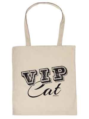 Stofftasche: VIP Cat