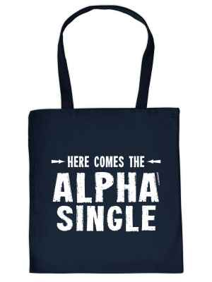Stofftasche: here comes the Alpha Single