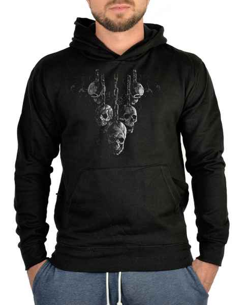 Kapuzensweater: Hanging Skulls