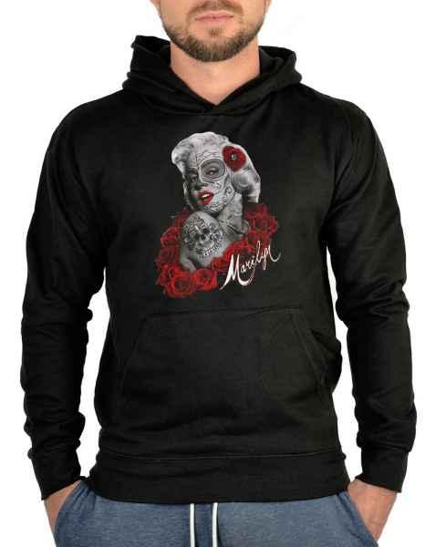 Kapuzensweater: Marilyn Monroe as la catrina