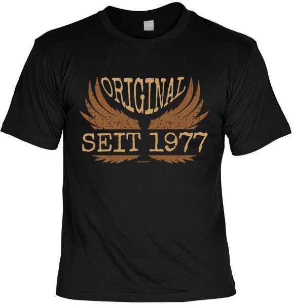 T-Shirt: Original seit 1977