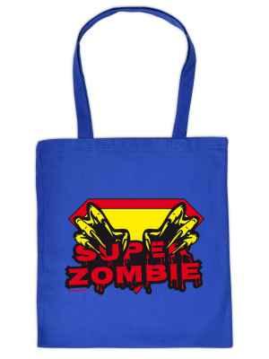 Stofftasche: Super-Zombie