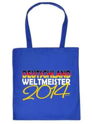 Stofftasche: Deutschland - Weltmeister 2014