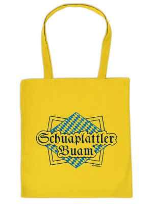 Stofftasche: Schuaplattler Buam