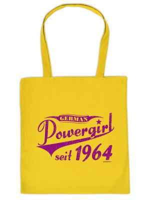 Stofftasche: German Powergirl seit 1964