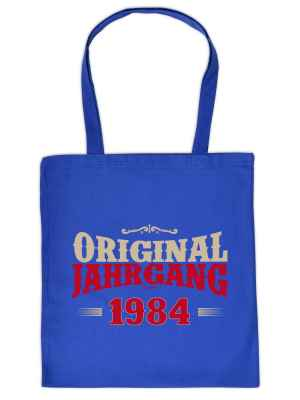 Stofftasche: Original Jahrgang 1984