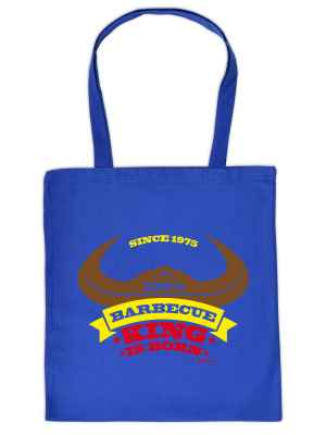 Stofftasche: Since 1975 - 100 Prozent Barbecue King is born