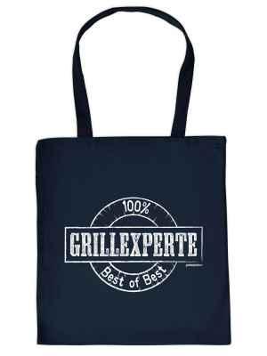 Stofftasche: 100 Prozent Grillexperte - Best of Best