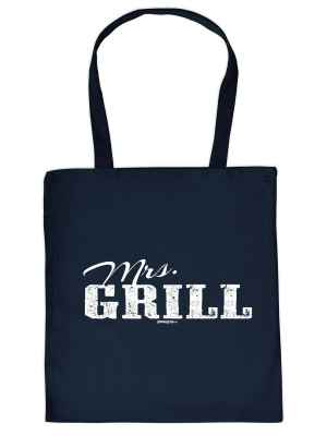 Stofftasche: Mrs. Grill