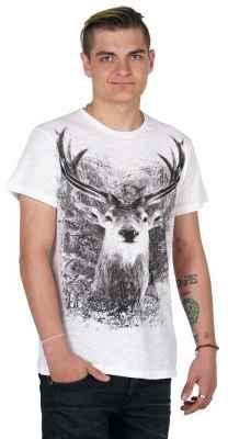 Herren T-Shirt Slub Farbe: weiß Material: 100% Baumwolle (Bio-Baumwolle) Größen: S - 3XL Besonderheit: Strukturierter Stoff, Bio-Baumwolle