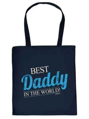 Stofftasche: Best Daddy in the World!
