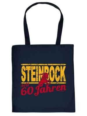 Stofftasche: Steinbock seit 60 Jahren