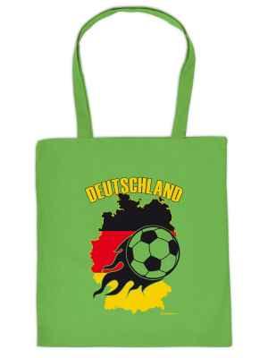 Stofftasche: Deutschland - Fussball