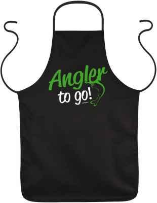 Schürze: Angler to go!