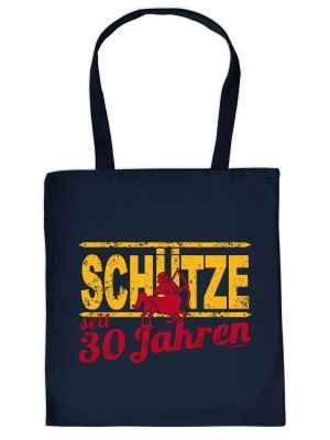 Stofftasche: Schütze seit 30 Jahren