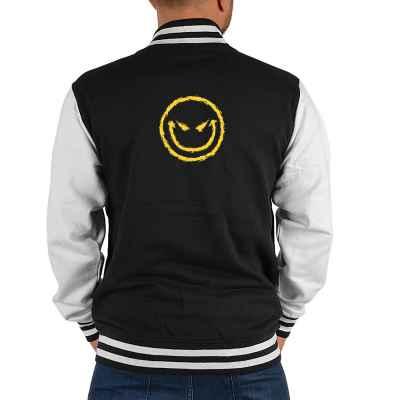 College Jacke Herren: Bad Smiley
