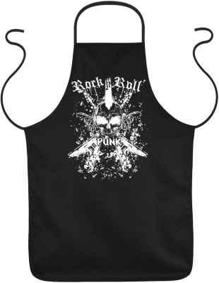 Schürze: Rock n Roll Punk