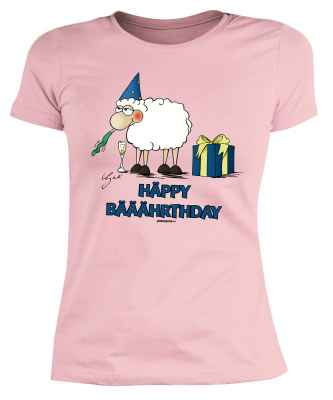 Damen T-Shirt: by Gali Häppy Bääährthday