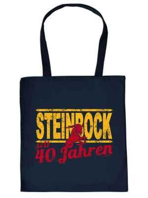 Stofftasche: Steinbock seit 40 Jahren