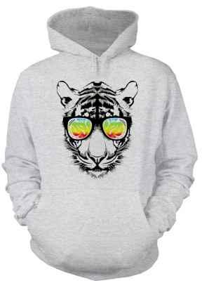 Hoody: Retro Tiger