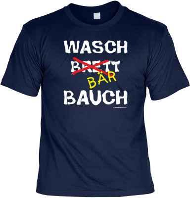 T-Shirt: Waschbärbauch