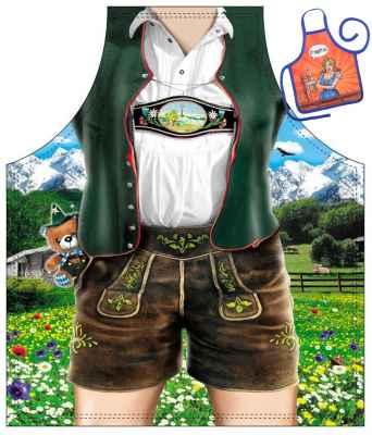 Motiv Kinder Schürze mit kleiner Schürze: Bayerischer Junge