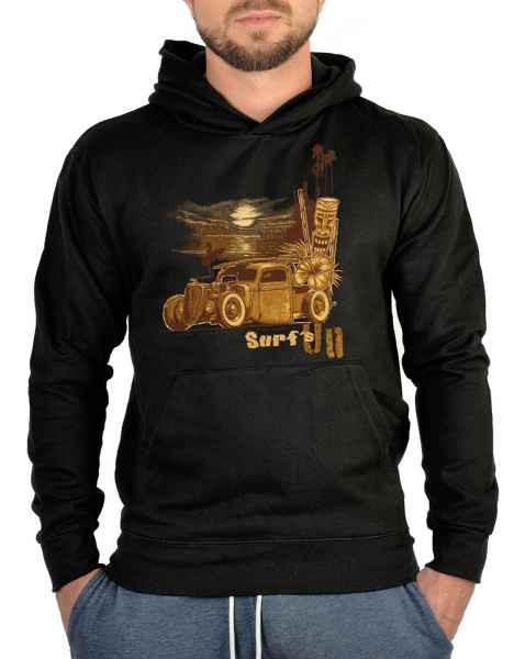 Kapuzensweater: US Hoodie Surf s up old style