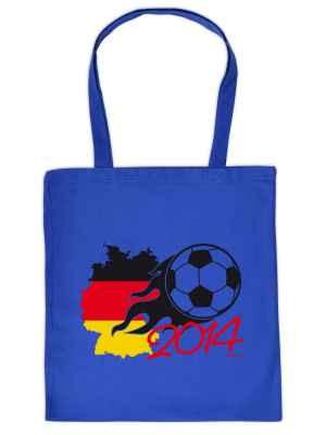 Stofftasche: Fussball WM 2014
