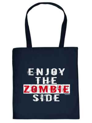 Stofftasche: Enjoy the Zombie Side