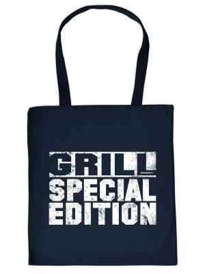 Stofftasche: Grill - Spezial Edition
