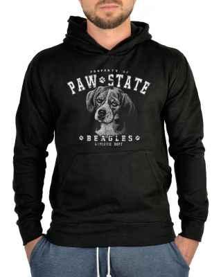 Kapuzensweater: Hunde Kapuzen Sweatshirt: Beagle