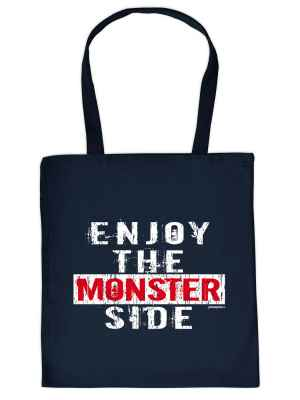 Stofftasche: Enjoy the Monster Side