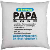Kissen mit Füllung: Firma Papa GmbH ? 24 Std. täglich