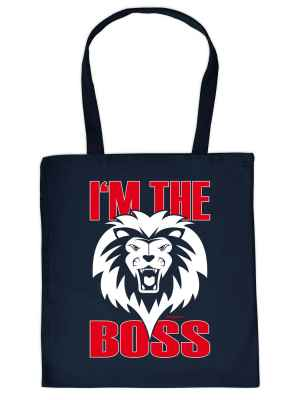 Stofftasche: I m the Boss