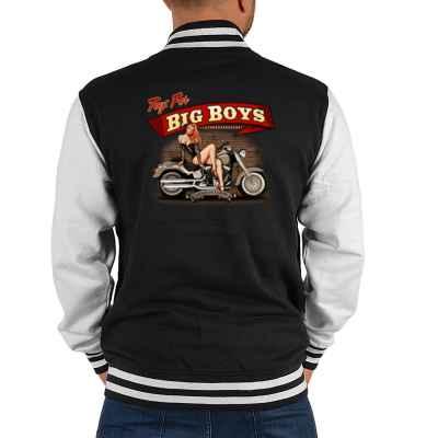 College Jacke Herren: Toys for BIG BOYS