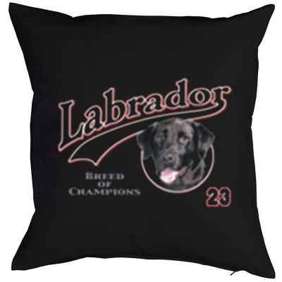 Kissen mit Füllung: Labrador 23 - Breed of Champions