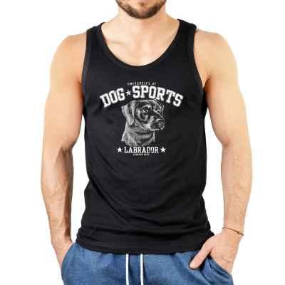Tank Top Herren: University of Dog Sports - Labrador