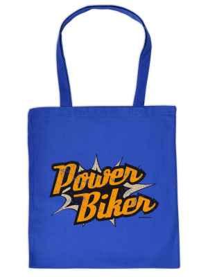Stofftasche: Powerbiker