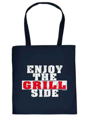 Stofftasche: Enjoy the Grill Side