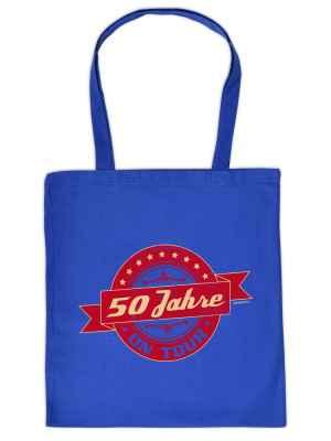 Stofftasche: 50 Jahre on Tour